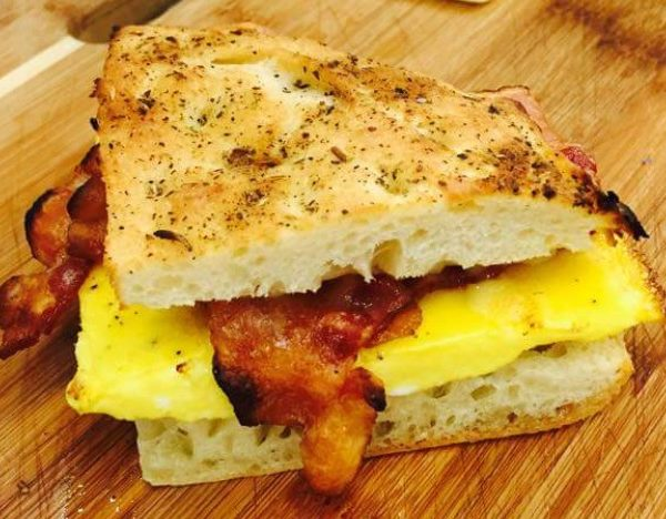 Ernie's Egg Sandwich